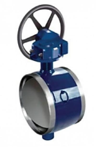 Затворы дисковые поворотные Vexve BFS полнопроходные сварка/сварка по ГОСТу