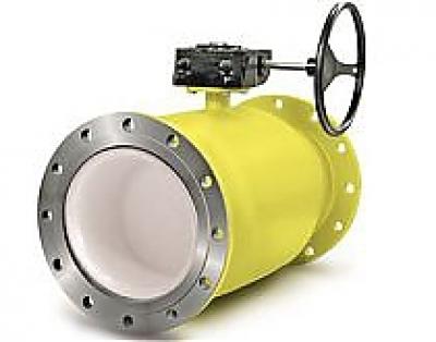 Краны шаровые LD для газа с механическим редуктором