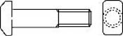 Болты DIN 261 с прямоугольной Т-образной головкой