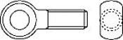 Болты DIN 444 откидные
