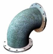 Отводы стальные крутоизогнутые ГОСТ 17375-2001 - фланцевые
