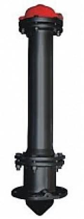 Гидрант пожарный чугунный H-1500