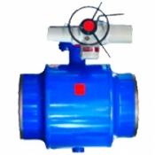 Краны шаровые K1-1-R-500-PN25-000-A-E-2 редуцированный и полнопроходной, с электроприводом AUMA