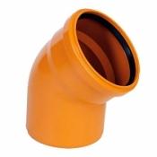 ПВХ отводы для наружной канализации