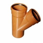 ПВХ тройники для наружной канализации
