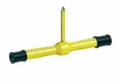 Краны шаровые Vexve серия 327 для ПЭ трубопроводов